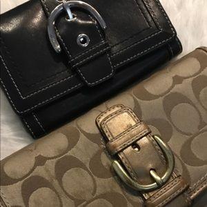 Vintage Coach Wallets